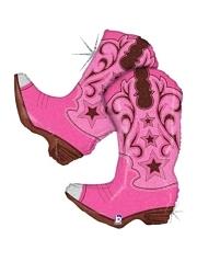 """36"""" Pin Dancing Boot Cowboy Balloon"""