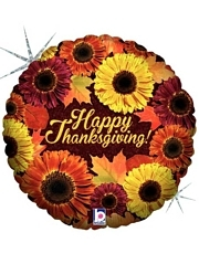"18"" Thankgiving Blooms Balloon"