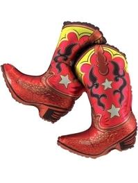 "36"" Dancing Boots Cowboy Balloon"