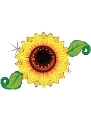 "46"" Sunflower Linky Thanksgiving Balloon"
