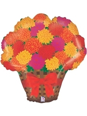 "26"" Mums Thanksgiving Balloon"