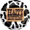 """18"""" Western Birthday Cowboy Balloon"""