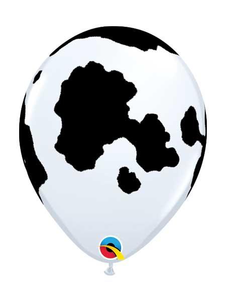 "11"" Holstein Cow Farm Animal Balloon"