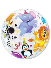 "22"" Party Animals Bubble Balloon"