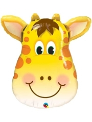 "32"" Jolly Giraffe Safari Animal Balloon"