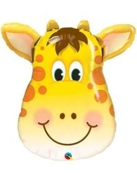 """32"""" Jolly Giraffe Safari Animal Balloon"""