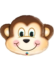 "35"" Mischievous Monkey Jungle Animal Balloon"