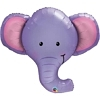 "39"" Ellie The Elephant Safari Animal Balloon"