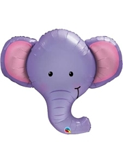 "39"" Ellie The Elephant Safari Animal Balloon"