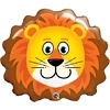 "29"" Lovable Lion Safari Animal Balloon"