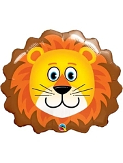 "29"" Lovable Lion Safari Animal Balloon"