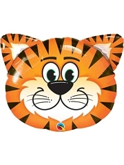 "30"" Tickled Tiger Safari Animal Balloon"