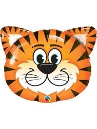 "30"" Tickled Tiger Safari Animal Balloon"