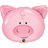 "30"" Playful Pig Farm Animal Balloon"