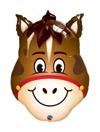 "32"" Hilarious Horse Farm Animal Balloon"