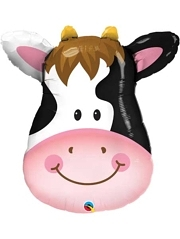 "32"" Contented Cow Farm Animal Balloon"
