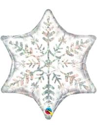 "22"" Dazzling Snowflake Christmas Balloon"