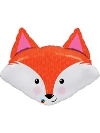 """33"""" Fabulous Fox Animal Balloon"""