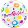 "22"" Birthday Cupcake Dots Bubble Balloon"