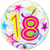 "22"" 18 Brilliant Stars Bubble Balloon"