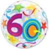"22"" 60 Brilliant Stars Bubble Balloon"