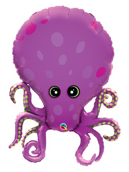 "35"" Amazing Octopus Tropical Balloon"