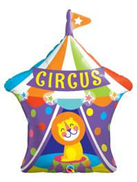 """36"""" Big Top Circus Lion Balloon"""