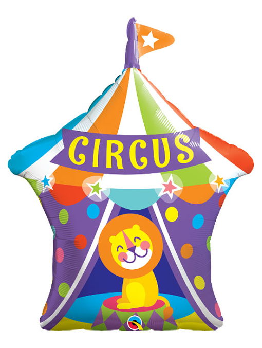 "36"" Big Top Circus Lion Balloon"