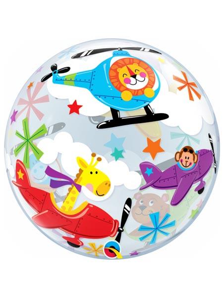 "22"" Flying Circus Bubble Balloon"