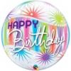 """22"""" Birthday Sorbet Starblast Bubble Balloon"""