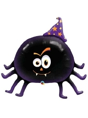 "36"" Frindely Party Spider Halloween Balloon"