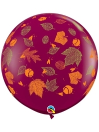 "36"" Autumn Leaves Thanksgiving Balloons"