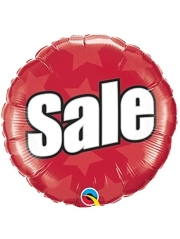 "18"" Sale Advertising Marketing Balloon"