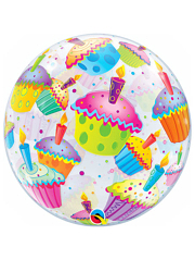 "22"" Cupcakes Bubble Balloon"