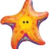 """30"""" Super Sea Star Tropical Balloon"""