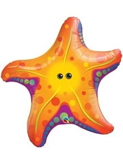"30"" Super Sea Star Tropical Balloon"