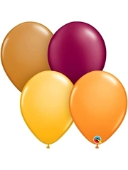 "11"" Autumn Assortment Thanksgiving Balloons"