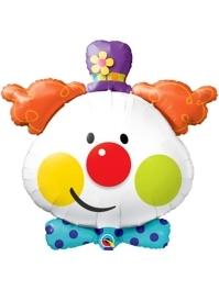 """36"""" Cute Clown Circus Balloon"""