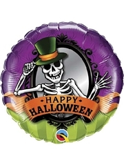 """18"""" Halloween Skeleton Balloon"""