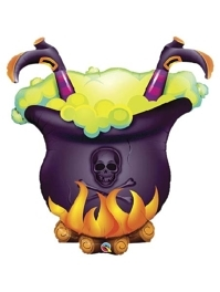 "40"" Oops Witchs Brew Halloween Balloon"