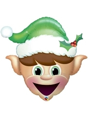 "35"" Christmas Elf Balloon"