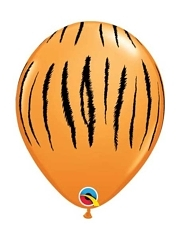 "11"" Tiger Stripes Safari Animal Balloons"