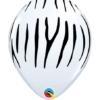 "11"" Zebra Stripes Safari Animal Balloons"