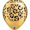 """11"""" Leopard Spots Safari Animal Balloons"""