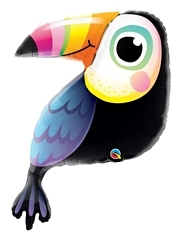 """41"""" Colorful Toucan-Tropical Balloon"""