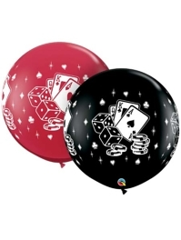 "36"" Casino Dice & Cards Balloon Assortment"