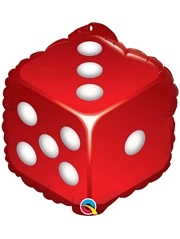 "18"" Casino Dice Balloon"