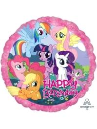 """17"""" My Little Pony Birthday Balloon"""