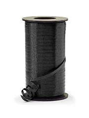 "3/16"" Black Curling Ribbon"
