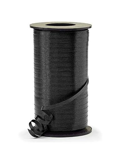 "3/16"" Black Curling Ribbon"
